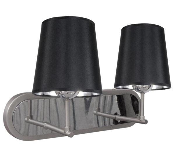 MILONGA LAMPA KINKIET 2X60W E27 SATYNA - 22-53503