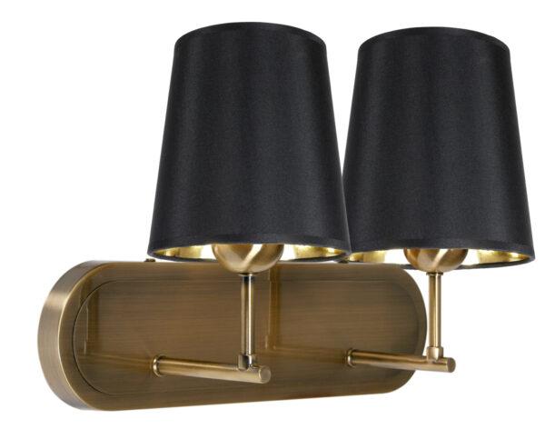 MILONGA LAMPA KINKIET 2X60W E27 PATYNA - 22-53510
