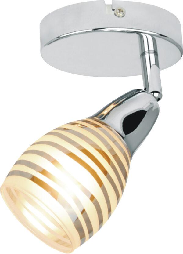 JUBILAT LAMPA KINKIET 1X10W E14 LED CHROM - 91-54050