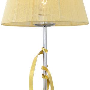 DIVA LAMPA GABINETOWA 1X60W E27 CHROM/ZŁOTY - 41-55071