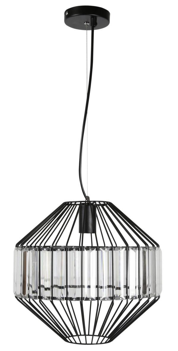 ALVARO 2 LAMPA WISZĄCA 30 1X40W E27 CZARNY - 31-55170
