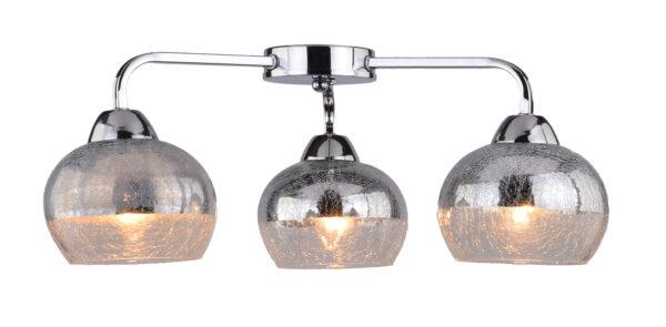 CROMINA LAMPA SUFITOWA 3X60W E27 CHROM - 98-55651