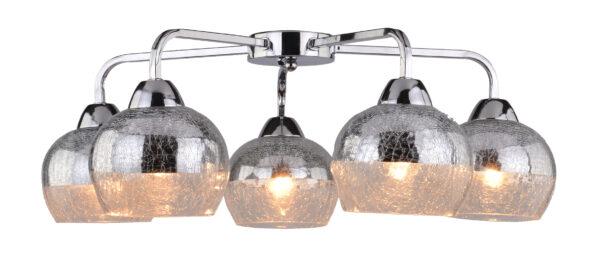 CROMINA LAMPA SUFITOWA 5X60W E27 CHROM - 98-55668
