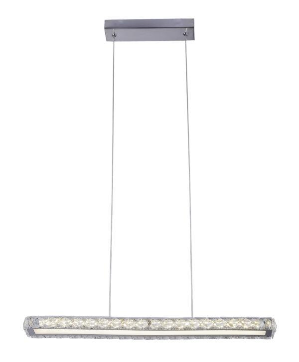 SYMPHONY LAMPA WISZĄCA 60CM 20W LED 4000K CHROM - 31-55743