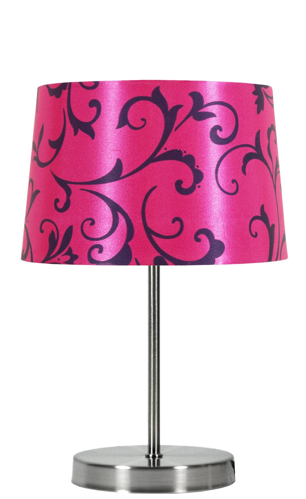 AROSA LAMPA 1X40W E14 RÓŻOWY - 41-55866