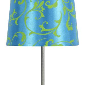 AROSA LAMPA 1X40W E14 NIEBIESKI - 41-55873