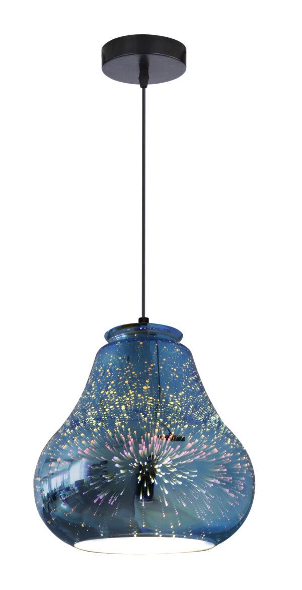GALACTIC 4 LAMPA WISZĄCA 19 1X60W E27 3D - 31-56108
