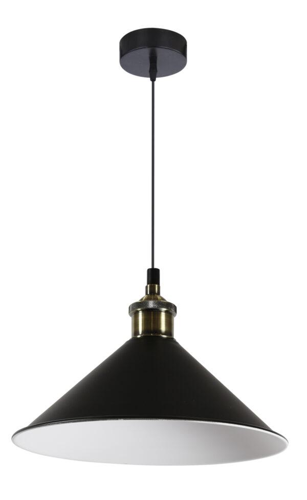 VELO LAMPA WISZĄCA 26 1X60W E27 CZARNY - 31-56313