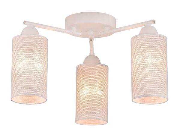 INDIRA LAMPA SUFITOWA 3X40W E14 BIAŁY - 33-57402