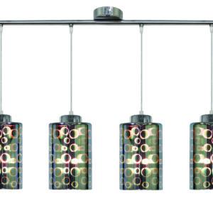 NOCTURNO LAMPA WISZĄCA 4X40W E27 CHROM - 34-57723