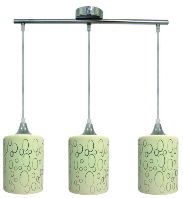 SAND LAMPA WISZĄCA 3X40W E27 CHROM - 33-57778