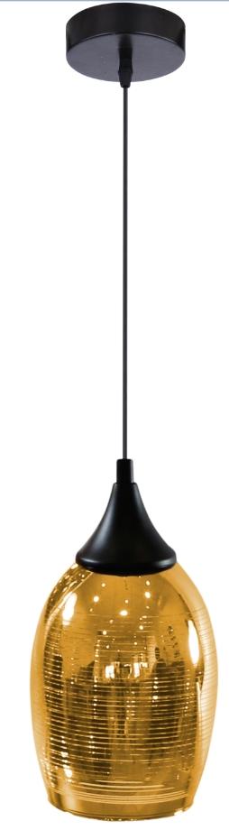MARINA LAMPA WISZĄCA 14 1X60W E27 ZŁOTY - 31-58003
