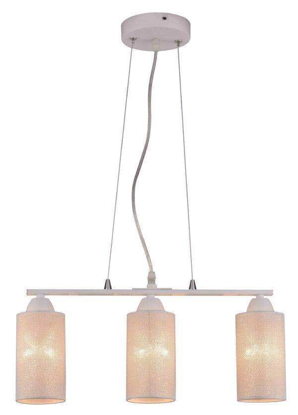 INDIRA LAMPA WISZĄCA 3X40W E14 BIAŁY - 33-58607