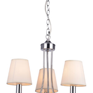 RUTI LAMPA WISZĄCA 3X40W E14 BEŻOWY - 33-58713