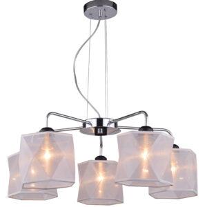 NOSJA LAMPA WISZĄCA 5X40W E27 CHROM - 35-58737