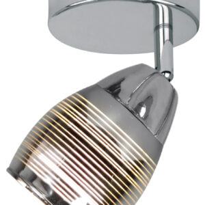 MILTON LAMPA KINKIET 1X10W E14 LED CHROM - 91-58904