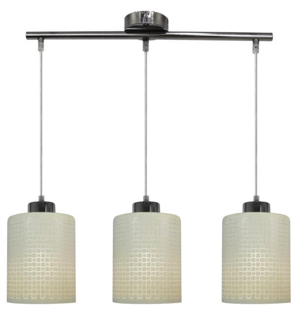 MARCEPAN LAMPA WISZĄCA 3X60W E27 CHROM - 33-59123
