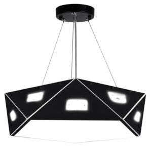 NEMEZIS LAMPA WISZĄCA PIĘCIOKATNY 42 3X40W G9  Z ŻARÓWKĄ CZARNY - 31-59130