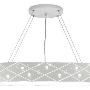 GLANCE LAMPA WISZĄCA 65 5X40W G9 Z ŻARÓWKĄ BIAŁY - 31-59178