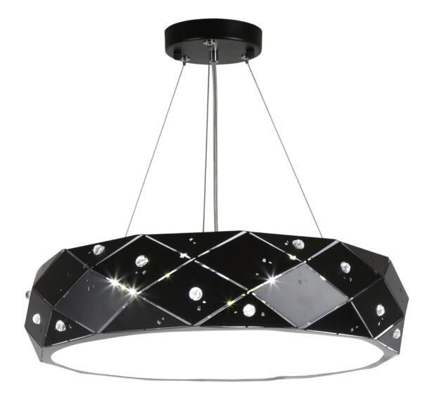 GLANCE LAMPA WISZĄCA 30 3X40W G9 Z ŻARÓWKĄ CZARNY - 31-59192