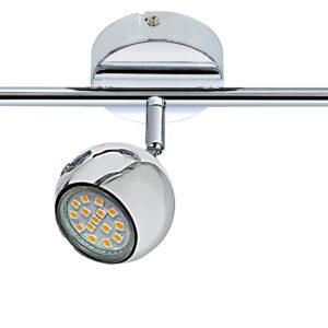 BALT LAMPA SUFITOWA LISTWA 3 X MAX 50W GU10 CHROM BEZ ŻARÓWEK - 93-60587