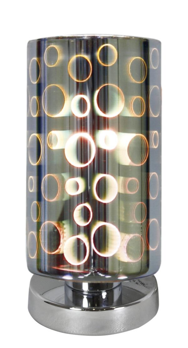 NOCTURNO LAMPA GABINETOWA 1X60W E27 CHROM - 41-61454