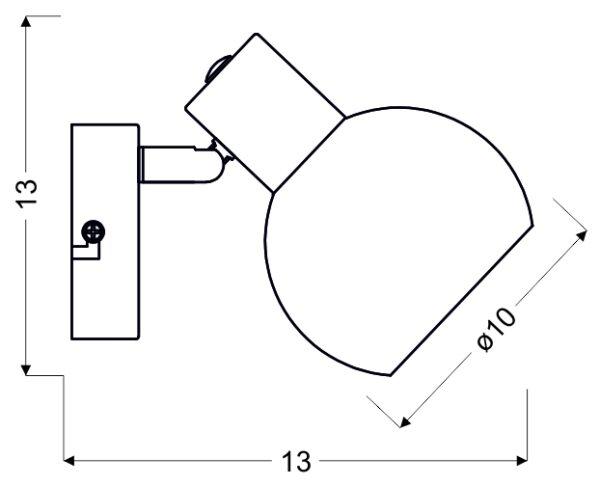 MAURO LAMPA KINKIET 1X4W E14 LED RGB SATYNA NIKIEL Z PILOTEM - 91-61584