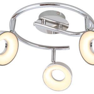 ISLA LAMPA SUFITOWA SPIRALA 3X4W LED CHROM 3000K - 98-61737