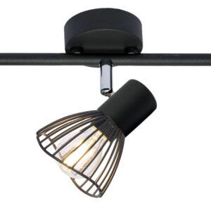 FLY LAMPA SUFITOWA LISTWA 3X40W E14 CZARNY - 93-61911