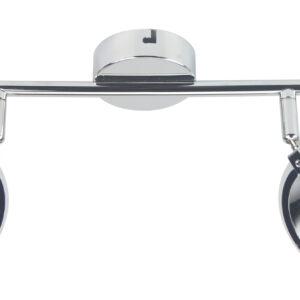 CELT LAMPA SUFITOWA LISTWA 2X6W LED CHROM 3000K - 92-62017
