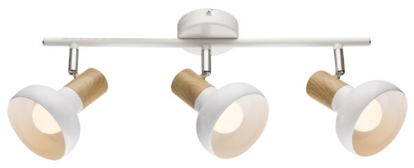 PUERTO LAMPA SUFITOWA LISTWA 3X40W E14 BIAŁY - 93-62673