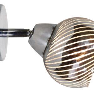 FORT LAMPA KINKIET 1X10W E14 LED CHROM - 91-62802