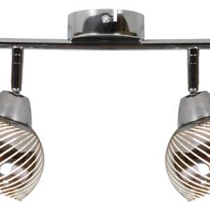 FORT LAMPA SUFITOWA LISTWA 2X10W E14 LED CHROM - 92-62819
