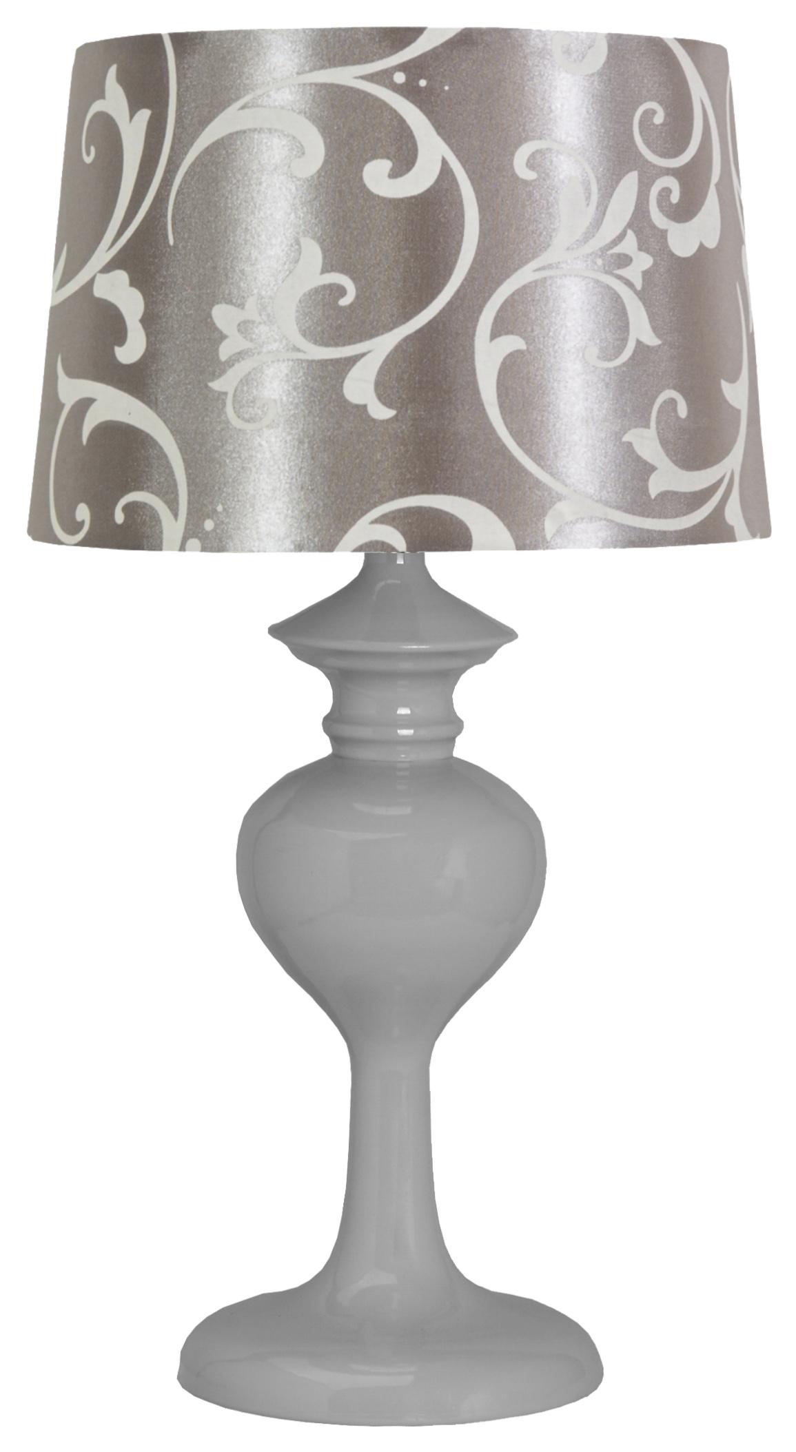 BERKANE LAMPA 1X40W E14 SZARY/SZARY - 41-64424