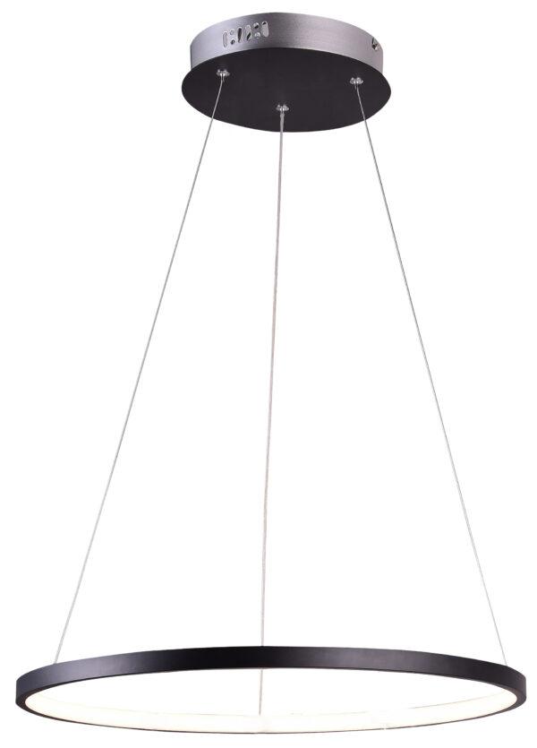 LUNE LAMPA WISZĄCA 30 OKRĄGŁY 18W LED 4000K CZARNY - 31-64653