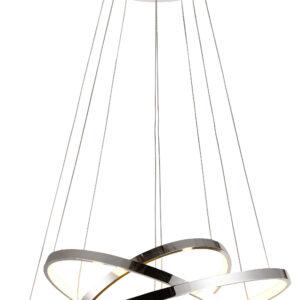 LUNE LAMPA WISZĄCA 50 OKRĄGŁY POTRÓJNY 60W LED 4000K CHROM - 33-64738