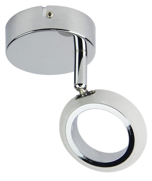 AURELION LAMPA KINKIET 1X4W LED CHROM 3000K - 91-65247