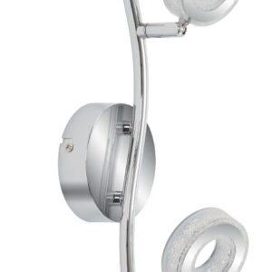 VINOLA LAMPA SUFITOWA LISTWA 2X5W LED CHROM 3000K - 92-65605