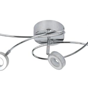 VINOLA LAMPA SUFITOWA PLAFON 5X5W LED CHROM 3000K - 98-66039