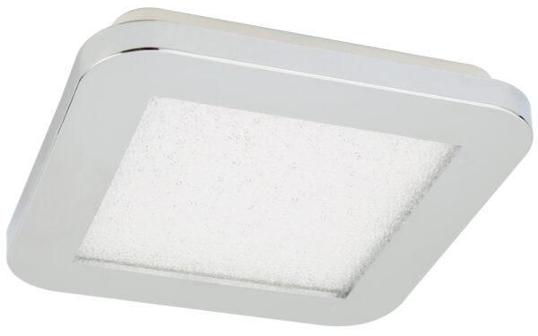 NEXIT LAMPA SUFITOWA PLAFON 17X17 10W LED IP44 CHROM+GRANILA 3000K - 10-66770