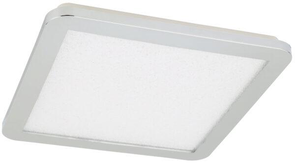 NEXIT LAMPA SUFITOWA PLAFON 30X30 18W LED IP44 CHROM+GRANILA 3000K - 10-66794