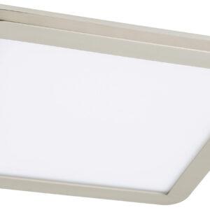 NEXIT LAMPA SUFITOWA PLAFON 40X40 24W LED IP44 SATYNA+BIAŁY 3000K - 10-66848