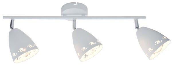 COTY LAMPA SUFITOWA LISTWA 3X40W E14 BIAŁY MAT - 93-67142