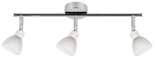ROY LAMPA SUFITOWA LISTWA 3X5W LED COB GŁÓWKA OKRĄGŁA 1E Z PRZEGUBEM KD SYSTEM BIAŁY - 93-67616