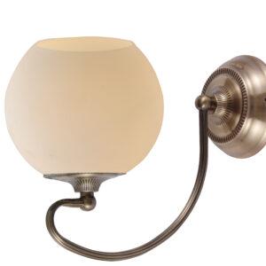 ORBIT LAMPA KINKIET 1X60W E27 PATYNOWA MIEDŹ - 21-69344