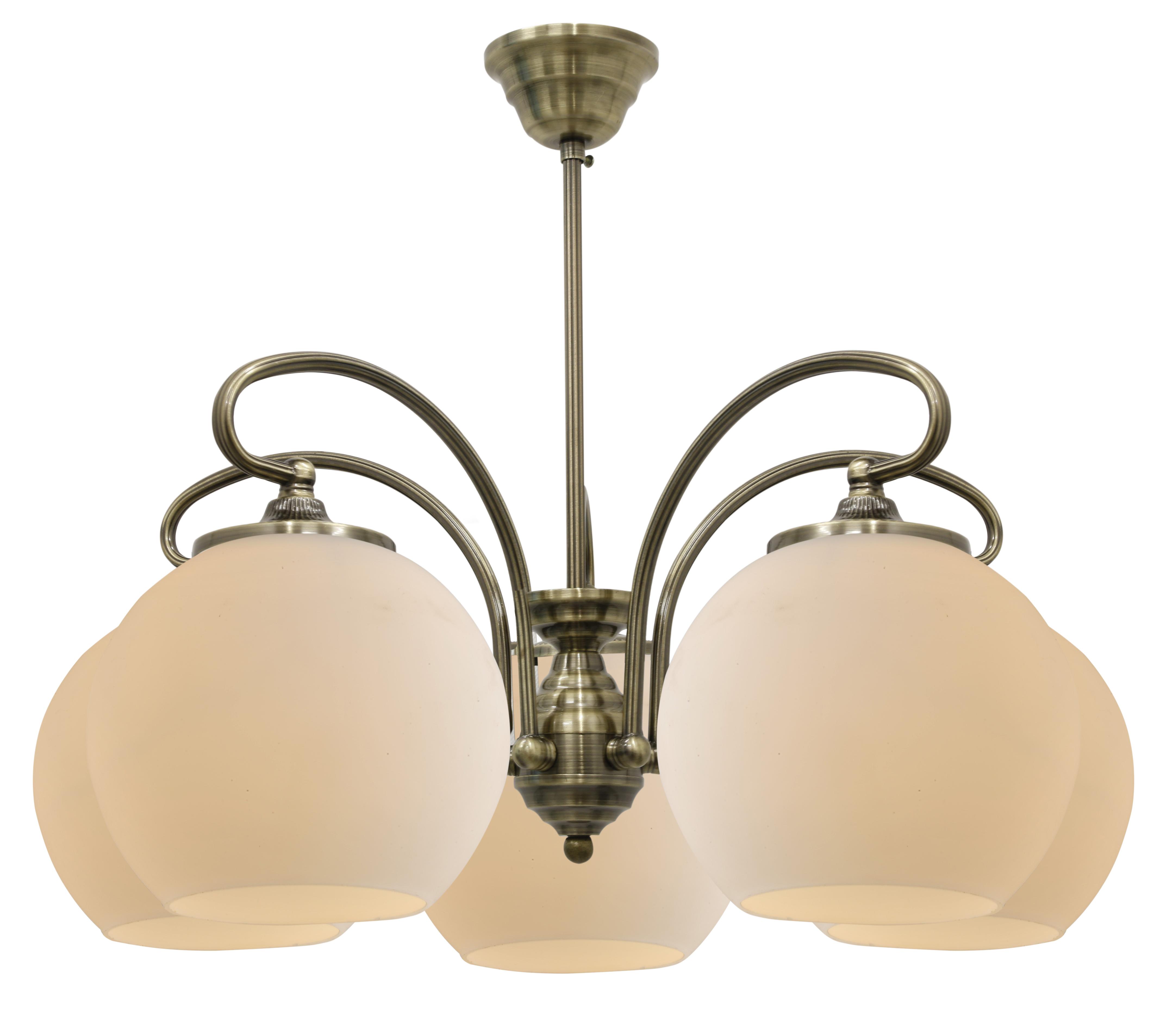 ORBIT LAMPA WISZĄCA 5X60W E27 PATYNOWA MIEDŹ - 35-69368