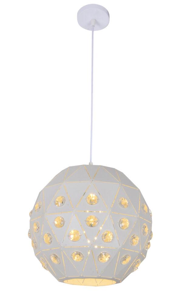 TENDER LAMPA WISZĄCA 30 1X40W E27 BIAŁY - 31-69672