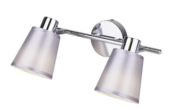 PIN LAMPA SUFITOWA LISTWA 2X40W E14 CHROM - 92-70654