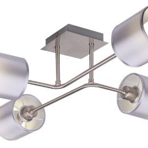 SAX LAMPA SUFITOWA 4X40W E14 SATYNA - 34-70685