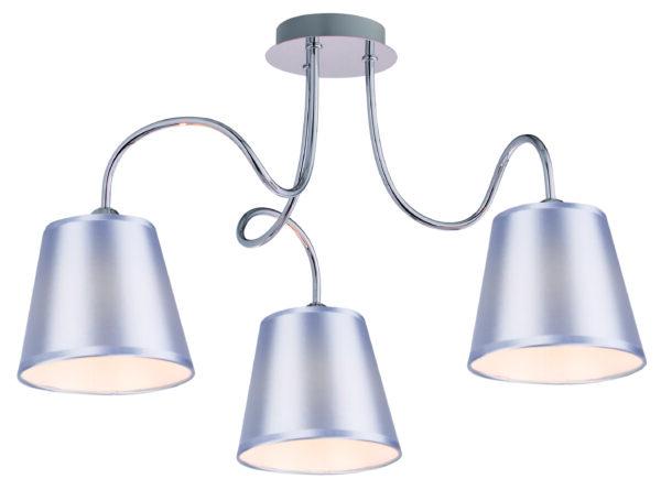 LUK LAMPA WISZĄCA 3X40W E14 CHROM - 33-70746